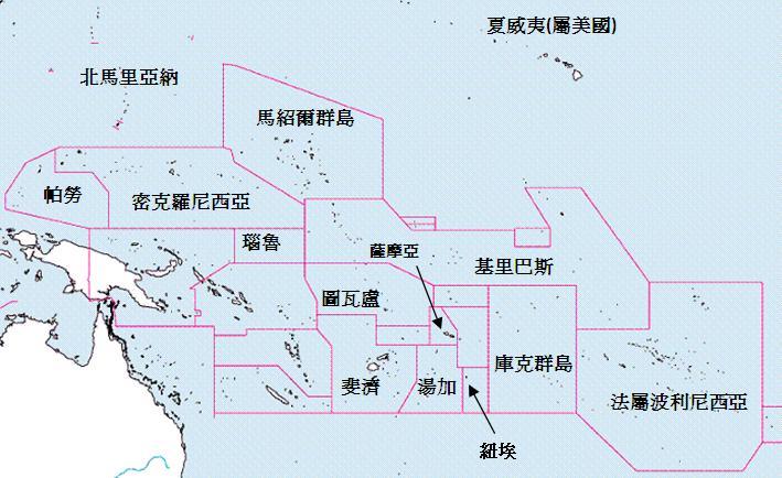 世界各國地圖總覽 亞洲