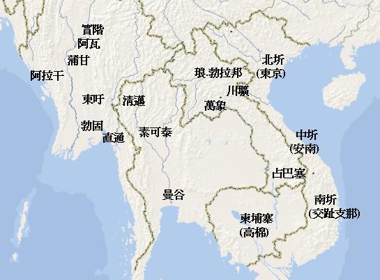 參考地圖:亞洲